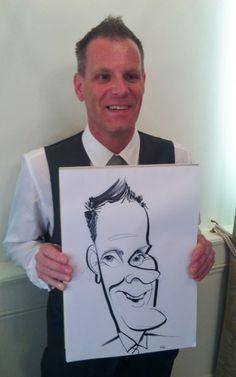 Wedding Caricaturist at Boughton House near Kettering
