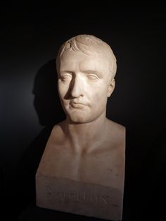 Bust in marble of Napoleon