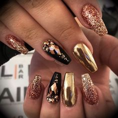 Winter Nails - 43 Sexy Winter Nail Art Design for Total Fashion Sexy Nails, Cute Nails, Pretty Nails, Winter Nail Art, Winter Nails, Summer Nails, Acrylic Nail Designs, Nail Art Designs, New Years Nail Designs