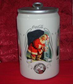 Coca Cola Santa 75th Anniversary Cookie Jar 2006 ONLY Displayed Never Used #CocaCola