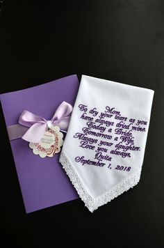 Wedding Gifts For Parrents Excited to share the latest addition to my shop: Plum wedding Bridal handkerchief Mother of the bride handkerchief Wedding keepsake Personalized hankies Embroidered hankie Wedding favor Wedding Gifts For Parents, Mother Of The Groom Gifts, Bride And Groom Gifts, Best Wedding Gifts, Gifts For Mum, Mother Of The Bride, Plum Wedding, Wedding Groom, Summer Wedding