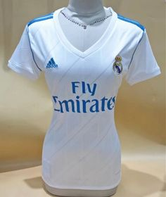 2017-18 Real Madrid Home White Thailand Female Soccer Jersey AAA Kids Soccer a3e6d26efe667