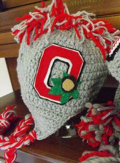 Ohio State FanHawk Hat