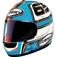 Classic Loris Capirossi helmet - http://replicaracehelmets.com/product/suomy-extreme-loris-capirossi-helmet/