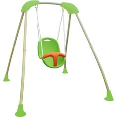 Baby Outdoor Swing With Frame - Home Decor Ideas Baby Swing Set, Kids Swing, Outdoor Swing Sets, Outdoor Baby, Siege Bebe, Cute Babies, Baby Kids, Dressing Table With Stool, Swinging Chair