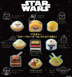 personajes comestibles star wars