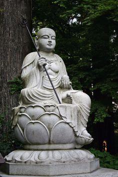 Gautama Buddha at Mt. Takao, Kanagawa-Ken by Stefano Costanzo