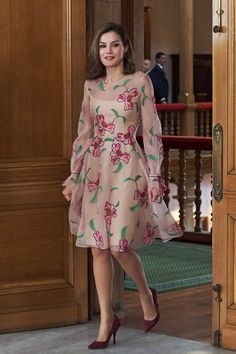 Queen Letizia's Heels Are Nice, but It's Her Dress That Will Have You Doing a Double Take