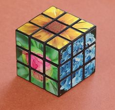 Can you still beat the cube?  Customize with your favorite 6 photos from this shop!