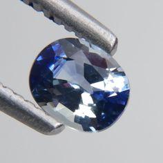 0.59 Ct Wonderful Oval Shape 5x3mm Fine Natural Sri Lanka Blue Sapphire