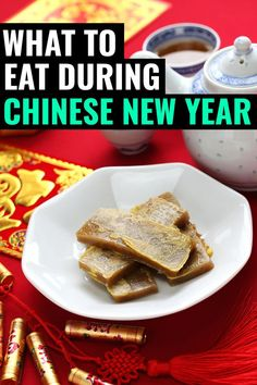 Chinese New Year Food Discover 23 Foods That You Cannot Miss During Chinese New Year This Is A List Of Food For Ch Chinese New Year Food Food New Year S Food