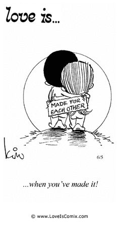 Love is... Comic Strip, Love Comic, Love Quotes, Love Pictures - Love is... Comics - Comic for Sat, Apr 27, 2013