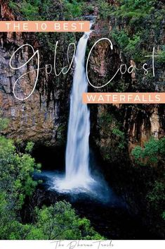 Planning a trip to the Gold Coast and looking for the best things to do during your stay? Take a day trip out to one of these beautiful waterfalls. We've listed the best waterfalls in the Gold Coast hinterland! Brisbane, Melbourne, Sydney, Great Barrier Reef, Cedar Creek Falls, Great Walks, Twin Falls, Natural Bridge, Rock Pools