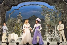 The Importance of Being Earnest. Broadway. Scenic design by Desmond Heeley.