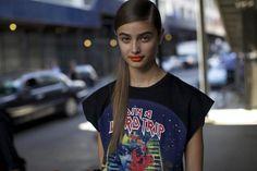 BEAUTY STREET STYLE:New York Fashion Week, Day Four | Clarins Beauty Flash Blog