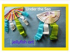 Kid Craft: Under the Sea Jellyfish Art