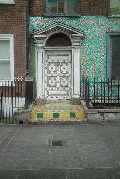 Doors Of Dublin - Dublin Street Art by infomatique, via Flickr