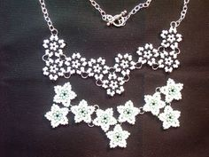 Falling Stars Necklace - #Seed #Bead #Tutorials