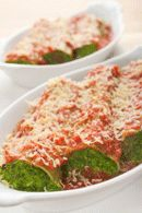 Healthy Lunch Recipe: Spinach and Ricotta Cannelloni  Recipe