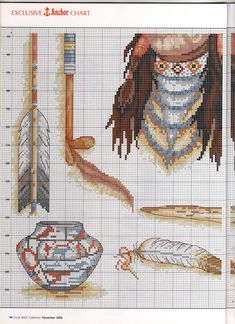 Cross-stitch patterns - Borduur patronen (3)