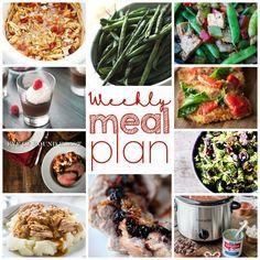 Weekly Meal Plan: Week 27