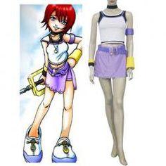 Kingdom Hearts 1 Kairi Cosplay Costume- MUST HAVE