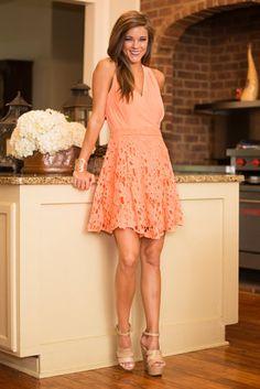 Sincerely Sweet Dress, Orange