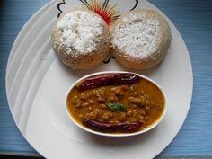 Kerala Style Chiratta Puttu (Coconut shell shaped puttu) Click here for recipe: http://secretindianrecipe.com/recipe/kerala-style-chiratta-puttu-coconut-shell-shaped-puttu  #indianfood #indianrecipes