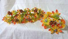 November momiji maiko's kanzashi set by EruwaedhielElleth.deviantart.com on @DeviantArt