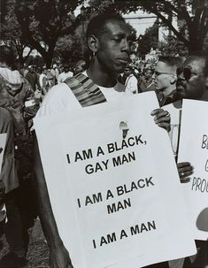 I Am a Man, Million Man March, Washington, D.C., Roderick Terry, October 16, 1995 Million Man March, Million Men, Protest Art, Protest Signs, Power To The People, Thing 1, Black Artists, Equality, Black Men