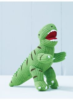 Knitted T-Rex Dinosaur