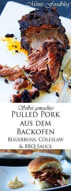 Leckeres und leicht zuzubereitendes Pulled Pork aus dem Backofen. Gelingt auch ohne Grill und überzeugt jeden Barbecue-Fan.
