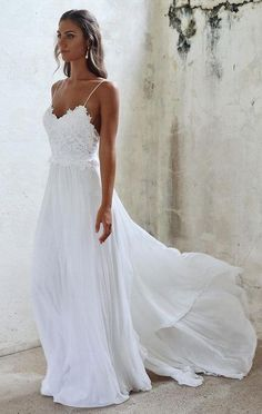 55 Ridiculously Stunning Beach Wedding Dresses | Wedding Decor Ideas