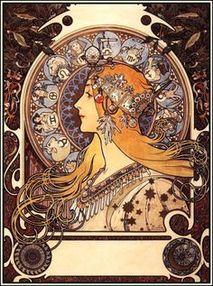 Alphonse Mucha art #Alphonse #Mucha #art