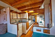 Classic Sailing, Yacht Interior, Desk Areas, New Deck, Fresh Water Tank, Open Layout, Beautiful World, Northern Lights, Sailing Yachts