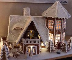 gingerbread house www. Gingerbread House Pictures, Easy Gingerbread House, Cardboard Gingerbread House, Graham Cracker Gingerbread House, Gingerbread House Template, Gingerbread House Designs, Gingerbread Decorations, Gingerbread Cake, Cardboard Houses
