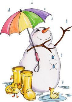 Rain winter. Best rainy day
