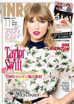 Japan's INROCK magazine November 2014