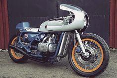 RocketGarage Cafe Racer: Honda GL1200 Goldwing 1976