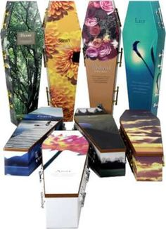 100% Environmentally Friendly #coffins trendhunter.com