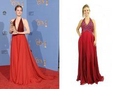 É SHOW! Inspire-se no look da famosa Amy Adams. Compre online na Black Suit Dress e arrase na festa! http://blacksuitdress.com.br/vestido-de-festa/vestido-de-festa-longo-bordado-pedraria-vermelho-escuro-meio-gode-frente-unica-88.html