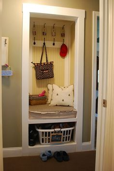 Have an extra entryway closet you want to fully utilize?