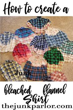 52 Ideas For Sewing Clothes Women Upcycle Shirt Refashion Bleach Shirt Diy, Bleach Dye, Diy Shirt, Diy Bleached Shirt, How To Bleach Shirts, Bleached Denim, Diy Clothes Refashion, Shirt Refashion, Diy Clothes Bleach