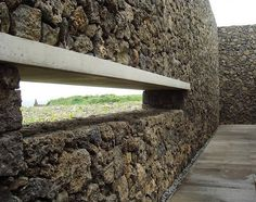 Genius Loci, Phoenix Island | Tadao Ando | Image : Ji young Yoon Genius Loci, Tadao Ando, Garden Bridge, Waterfall, Relax, Outdoor Structures, Island, Architecture, Building
