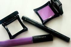 purple makeup illamasqua