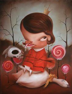 Paintings by Kathie Olivas | Cuded