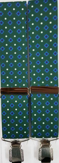 Rombos verde 1001 35 mm C02 pinza sencilla plateada