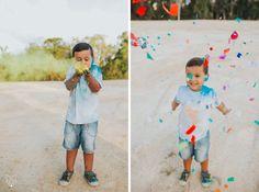 Maddy + Chris + Tyler | Fun colourful confetti + holi powder engagement session | White Fox Studios Studio Portrait Photography, Studio Portraits, Holi Powder, Fox Studios, White Fox, Beach Walk, Confetti, Engagement Session, Fun