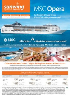 Featured Promotion - MSC Opera