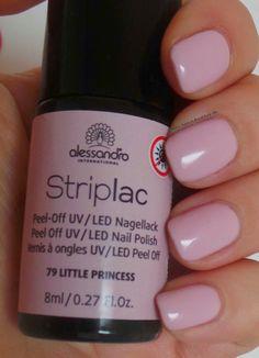 alessandro International Striplac Peel-Off UV / LED Nagellack – 79 Little Princess
